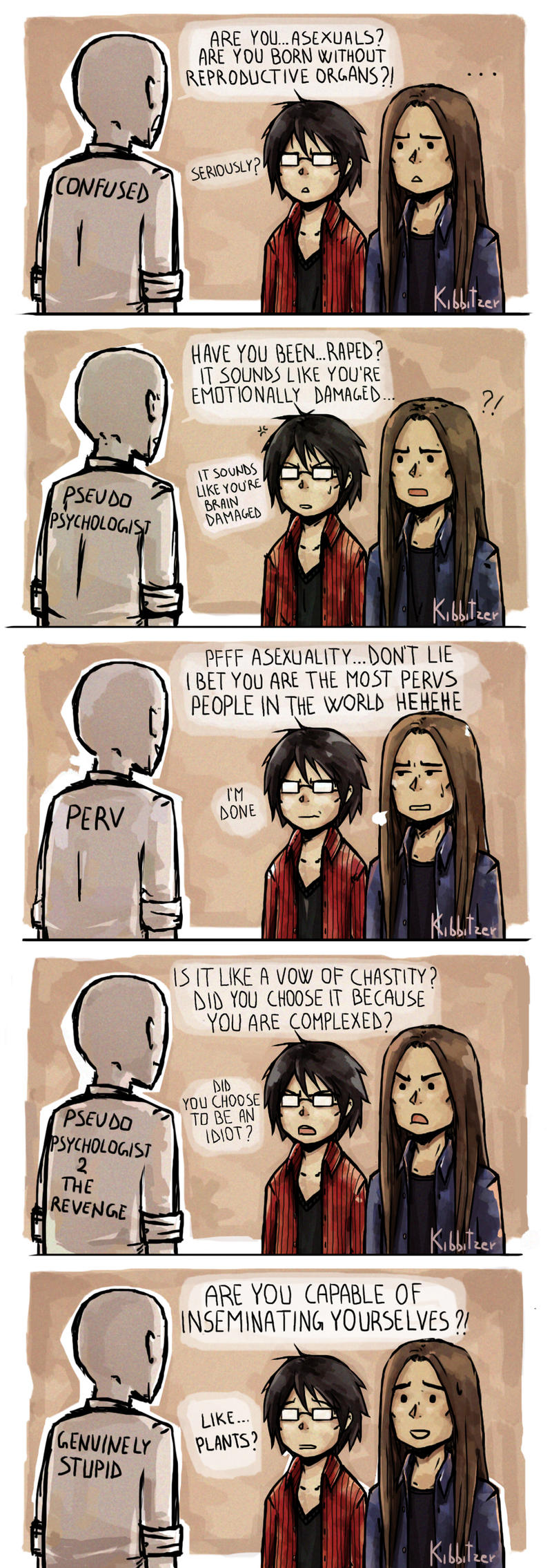 Asexuals VS the world by Kibbitzer