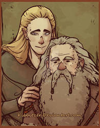 Legolas and old Gimli-asdfghjklqwert