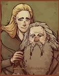 Legolas and old Gimli-asdfghjklqwert