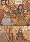 Thor-The Hobbit: a bunch of unexpected guests