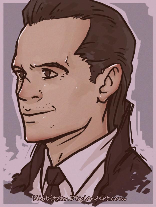 BBC Sherlock- Moriarty by Kibbitzer