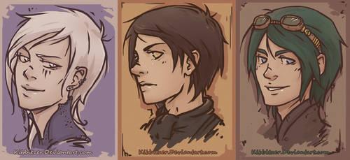 Shen, Valon and Ezra