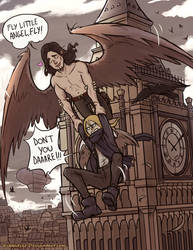 FLY little angel, FLY!