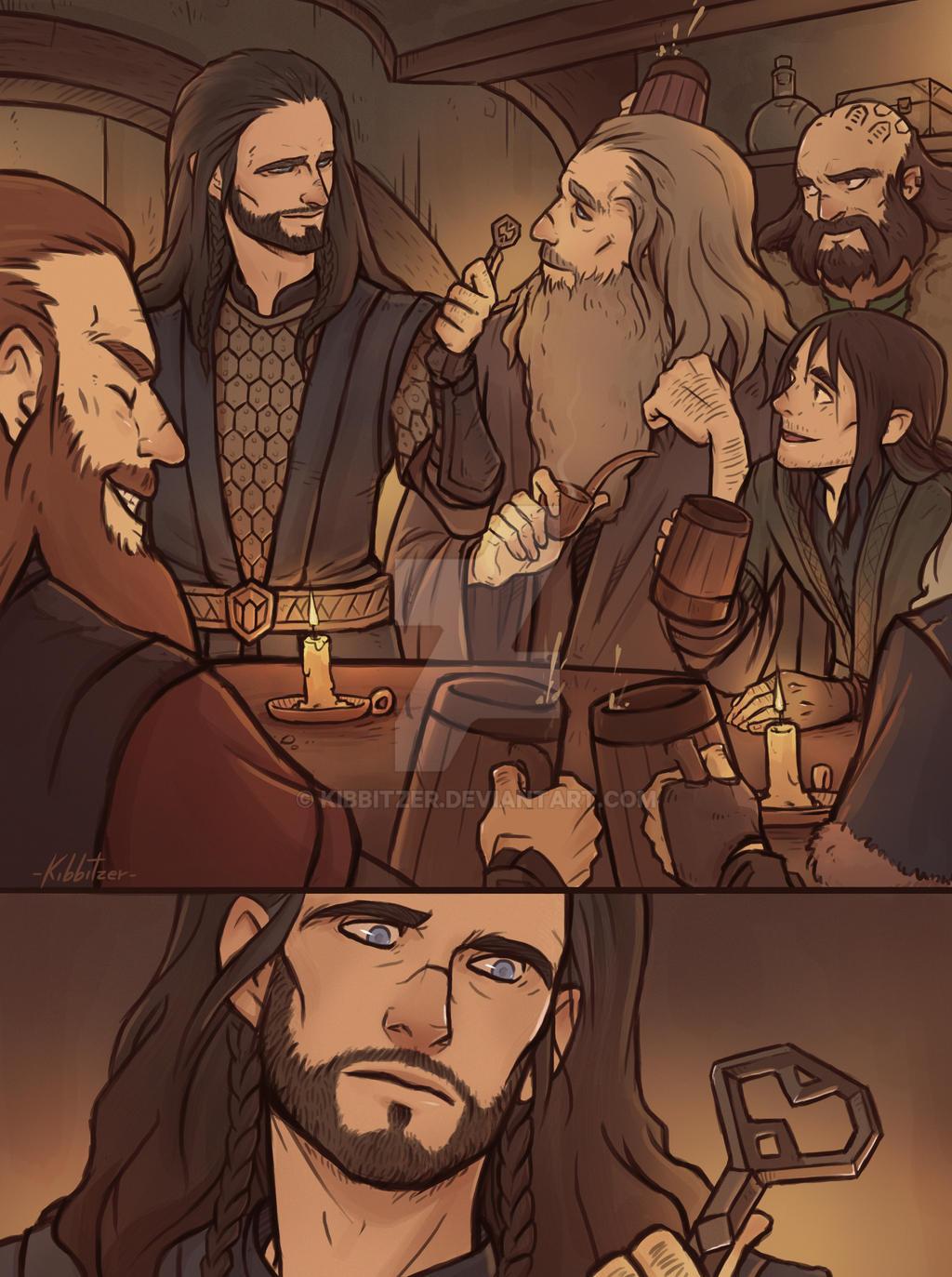 from Otto gay hobbit illustrations
