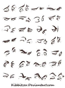 Eyes Reference Sheet