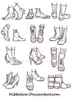 Shoes Reference Sheet