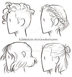 Short-Hair Reference Sheet
