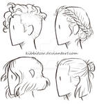 Short-Hair Reference Sheet