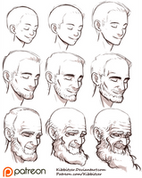 Aging Reference sheet by Kibbitzer