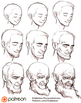 Aging Reference sheet