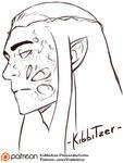 Thranduil's scar