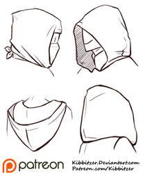 Hoods Reference Sheet by Kibbitzer