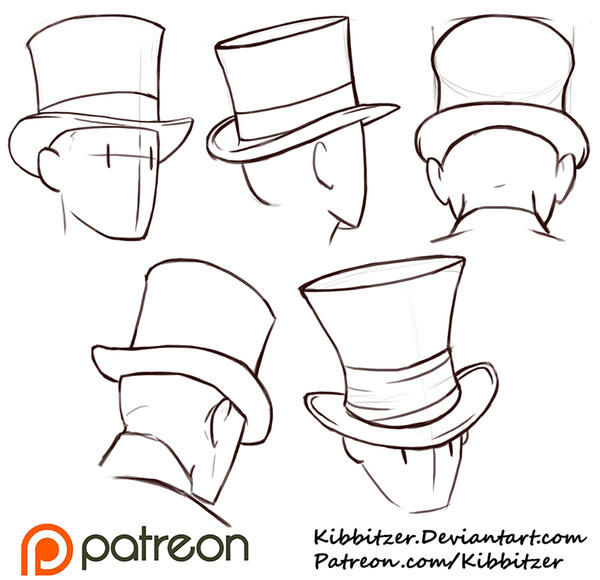 How to Draw a Cowboy Hat - Really Easy Drawing Tutorial
