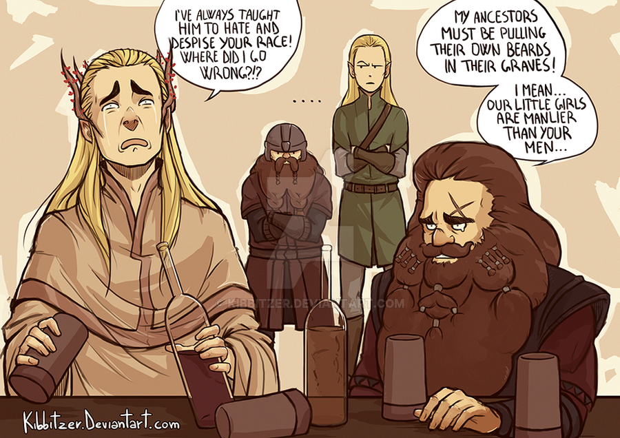 relationship between elrond and thranduil cosplay