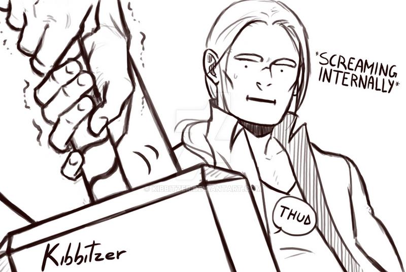 Thor SCREAMING INTERNALLY by Kibbitzer