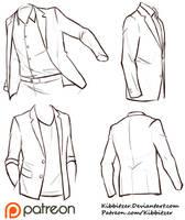 Jackets Reference Sheet by Kibbitzer