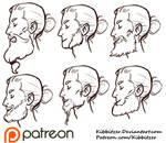 Beards reference sheet