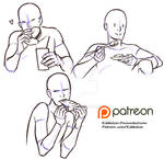 Eating reference sheet