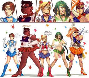 Sailor Meen XD by Kibbitzer