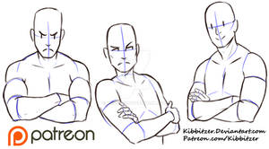 Crossed Arms reference sheet