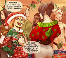 Collab: Ugly xmas sweater XD