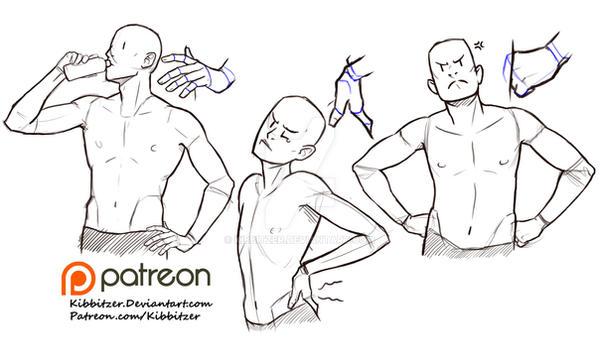 Hands on Hips reference sheet by Kibbitzer