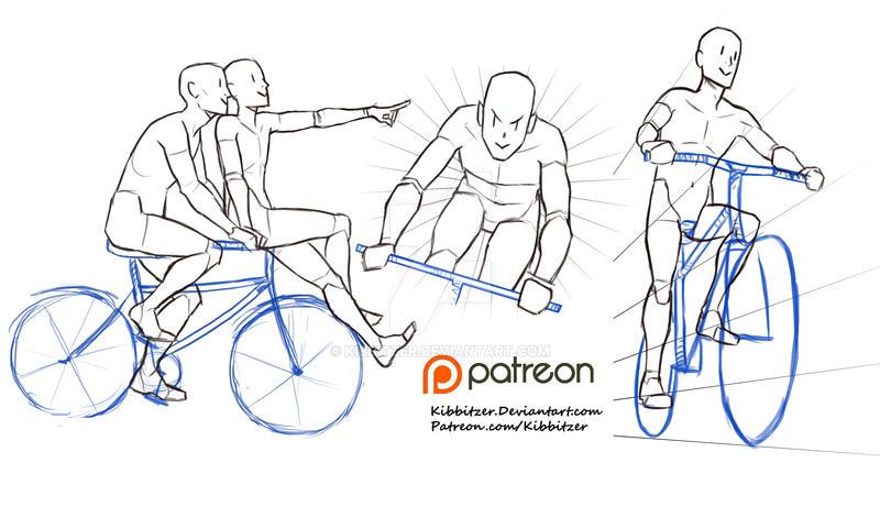 Biking Reference Sheet By Kibbitzer On Deviantart