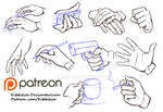 Hands reference sheet 6