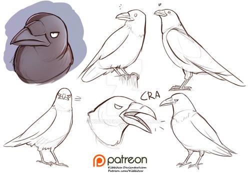 raven reference sheet