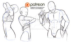 Undressing reference sheet