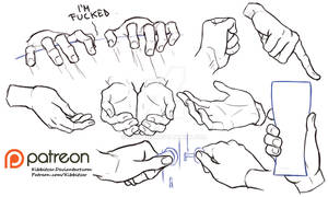 Hands reference sheet 7
