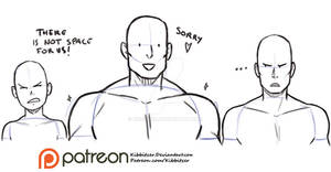 Shoulders reference sheet