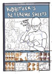 Kibbitzer's Reference sheets -COVER SKETCH-