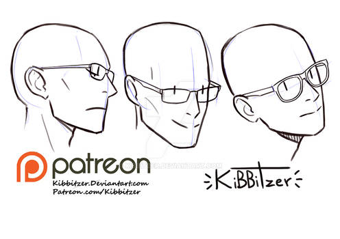 Glasses reference sheet