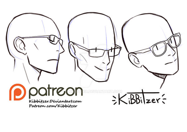 Glasses reference sheet by Kibbitzer