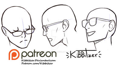 Glasses reference sheet 2