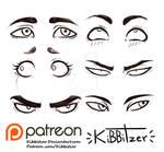 Eyes reference sheet 2