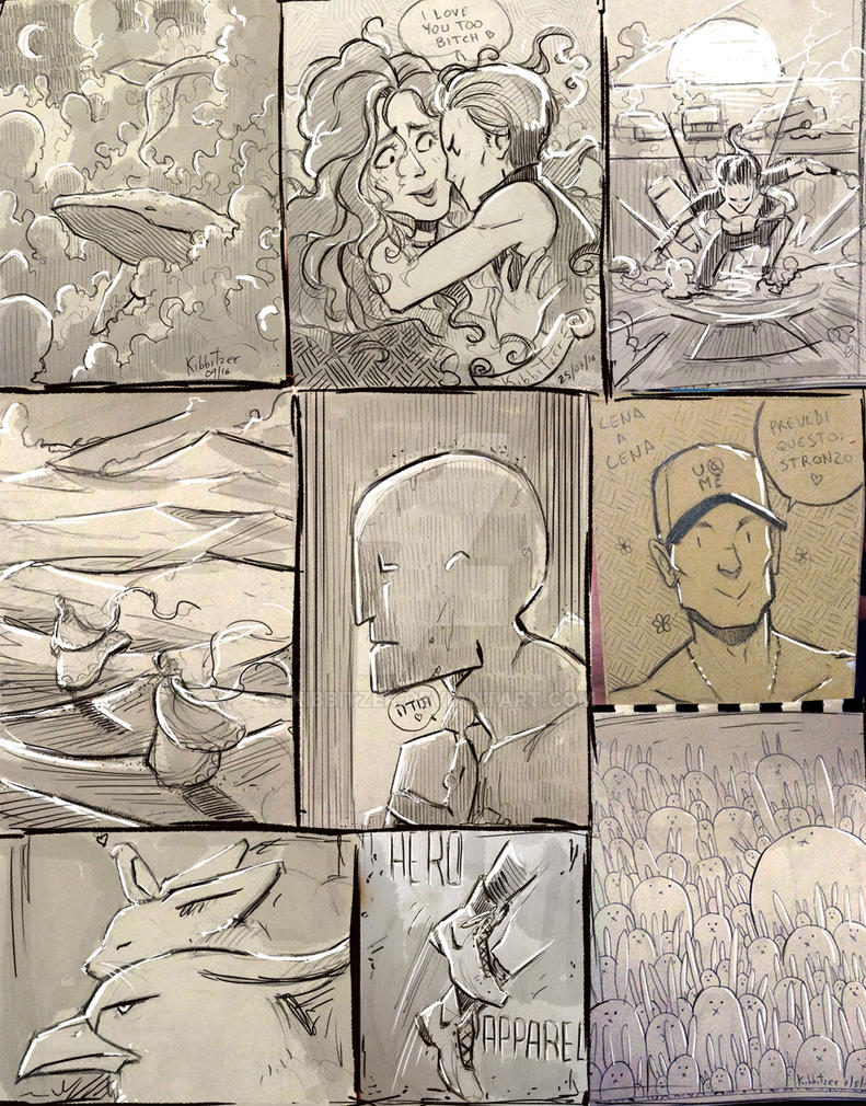 SketchDump by Kibbitzer