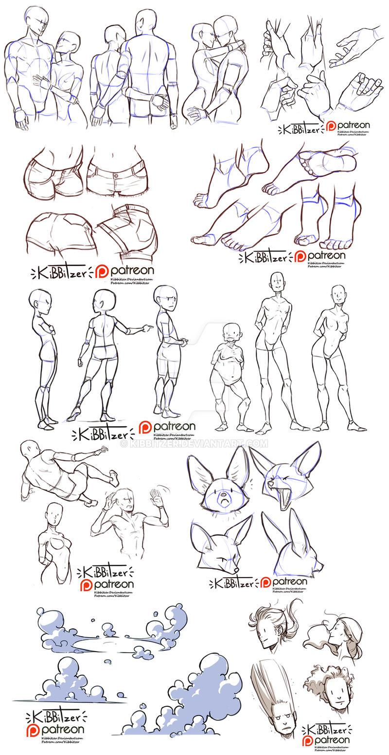 Reference Sheets by Kibbitzer on DeviantArt
