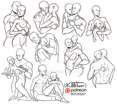 Couples reference sheets