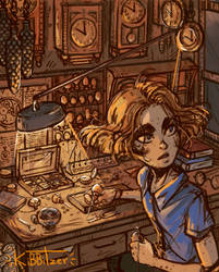 Watchmaker studio by Kibbitzer