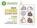 Dynamic reference sheets BONUS PERK UNLOCKED
