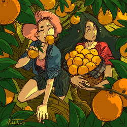 Orange thieves