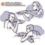 Holding shotgun reference sheet -PREVIEW-