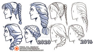 Braids reference sheet -PREVIEW-