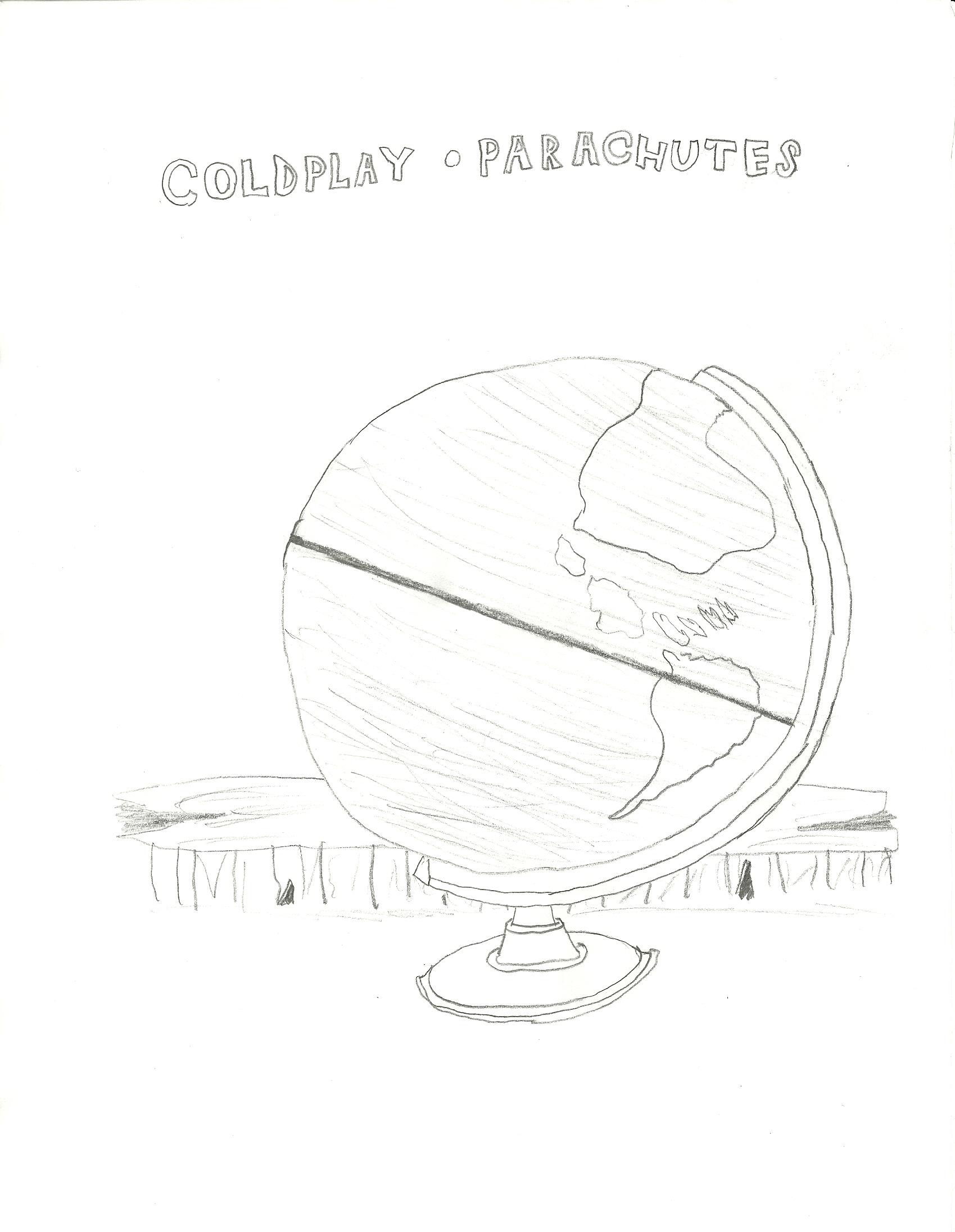 Coldplay Parachutes Album Cover