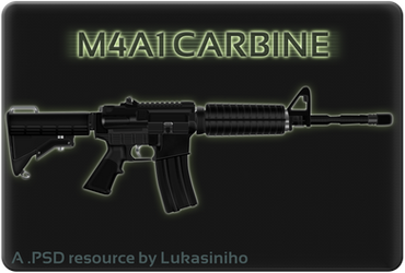 M4 Carbine by Lukasiniho