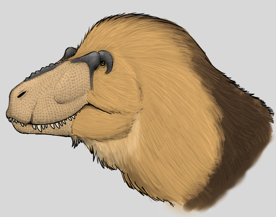 Maned Tyrannosaurus by StygimolochSpinifer