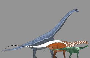 Sauropods by StygimolochSpinifer