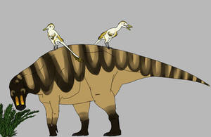 Cattle Unenlagiines by StygimolochSpinifer